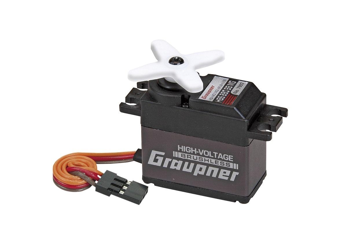 Náhľad produktu - Servo HBS 880BB, MG-Hi Volt-Brushless (tlouštka 20mm)