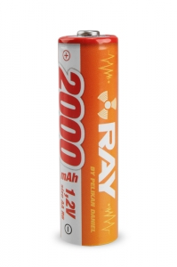 7BA10103 1.2V 2000mAh AA Long RAY