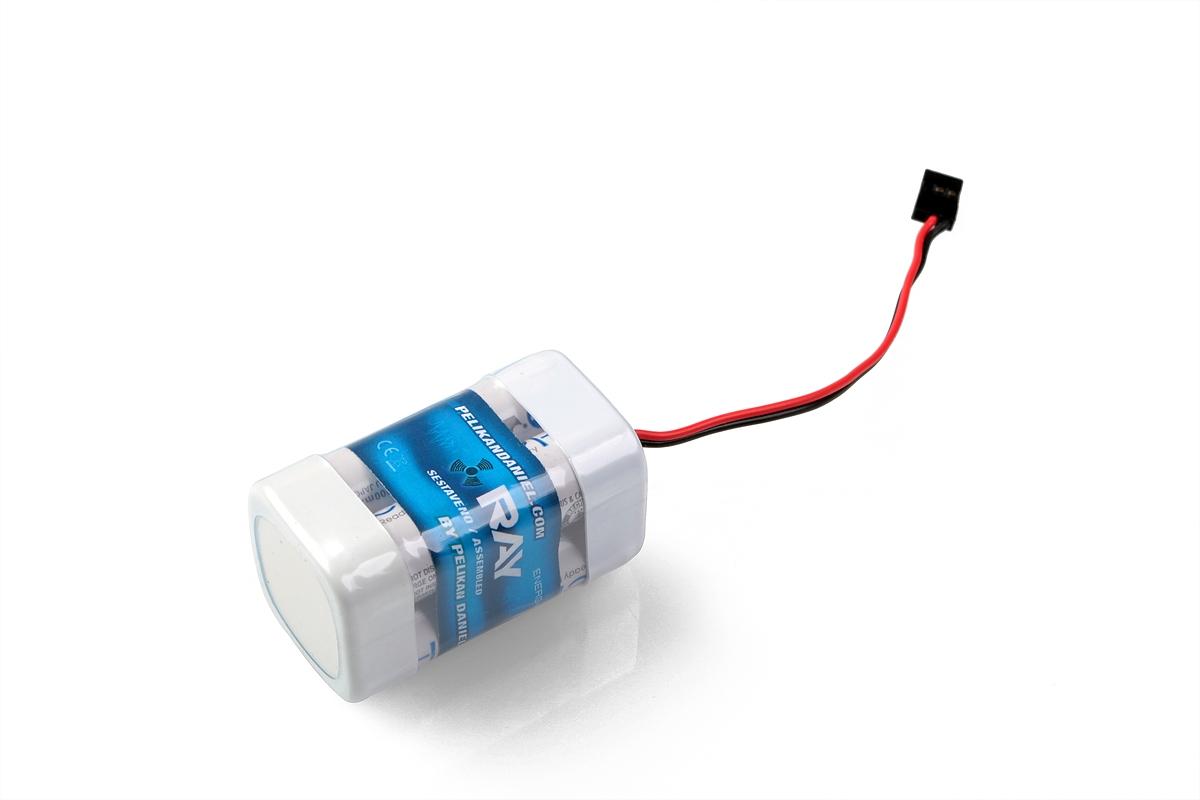 Náhľad produktu - 4,8V 2000AA ENELOOP Sanyo RX 4čl. prijímačový (kocka)