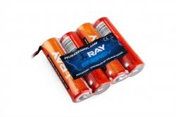 4.8V 2000AA Long RAY TX (Flash 7, LYNX 4S) 4čl. vysielačový (plochý)