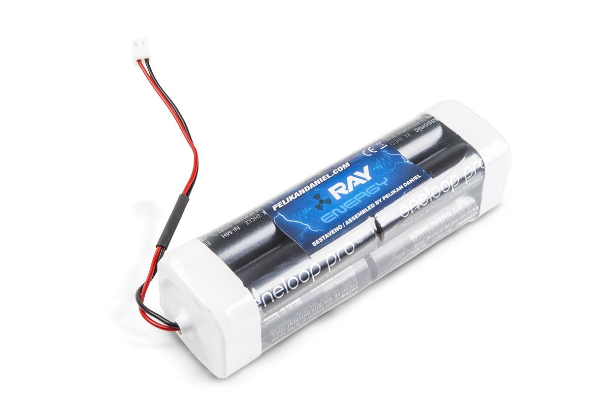 Náhľad produktu - 9.6V 2500AA Sanyo ENELOOP TX 8čl. vysielačové