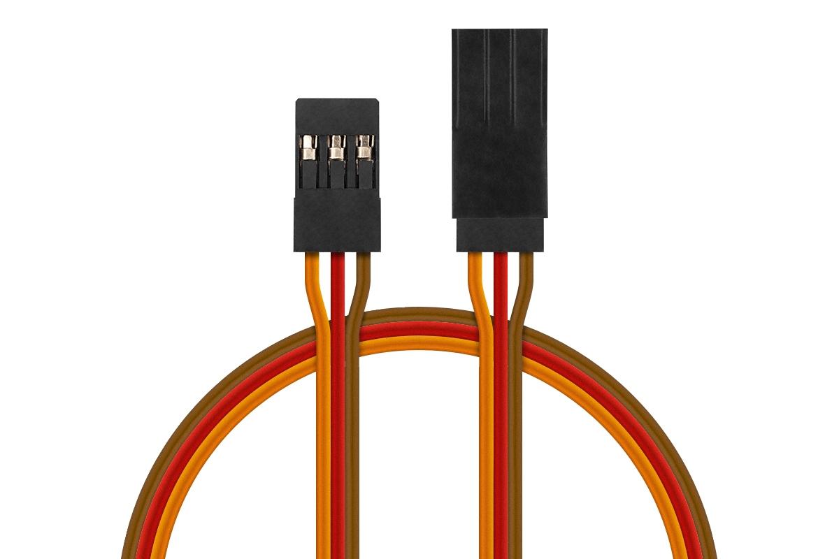 Náhľad produktu - JR012 prodlužovací kabel 250-300cm JR DOPRODEJ HITEC (PVC)