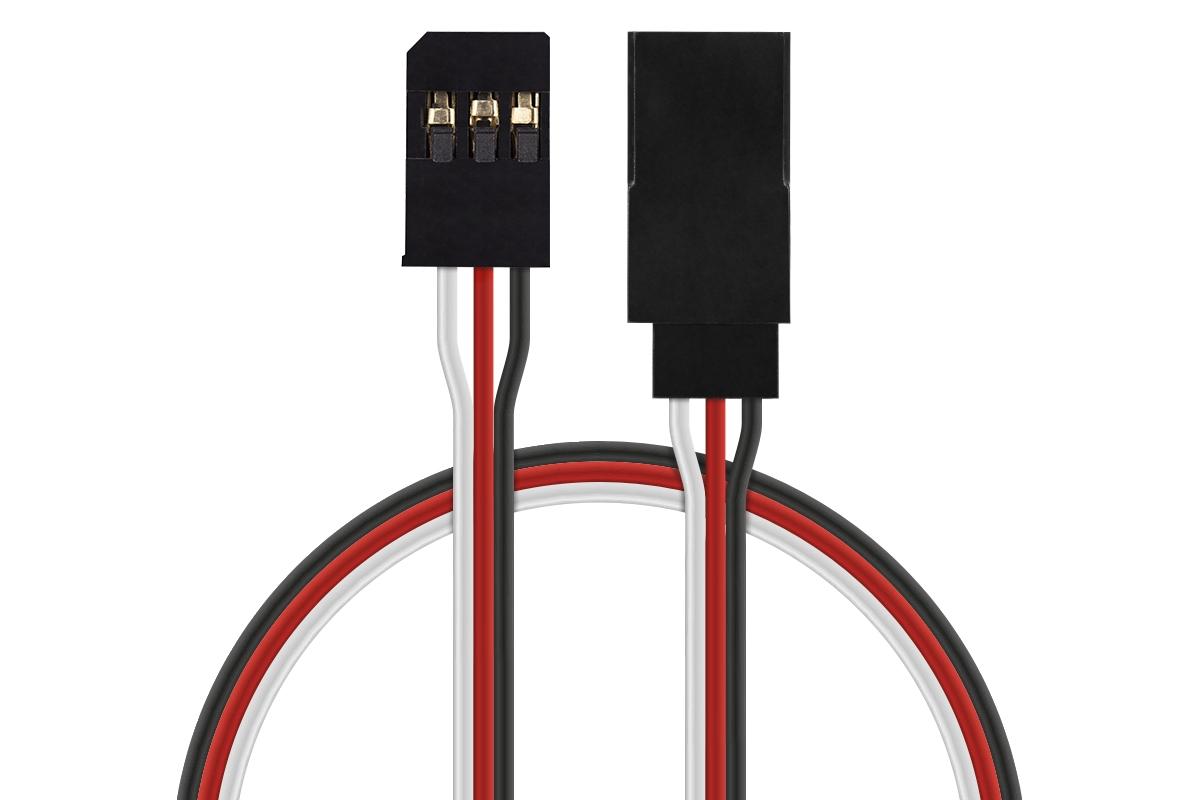 FU012 prodlužovací kabel 30cm Futaba (PVC)