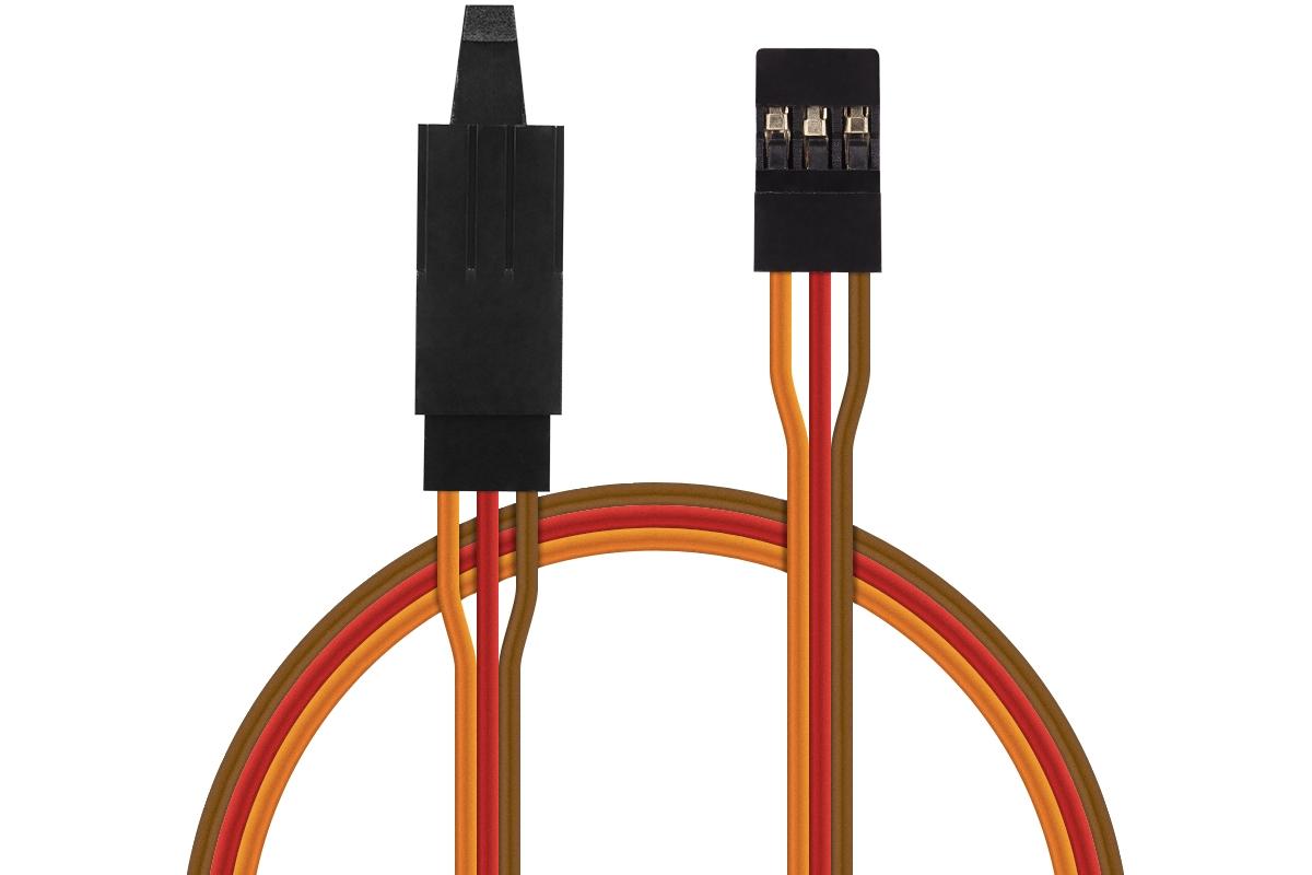 JR013 prodlužovací kabel 45cm JR s pojistkou (PVC)