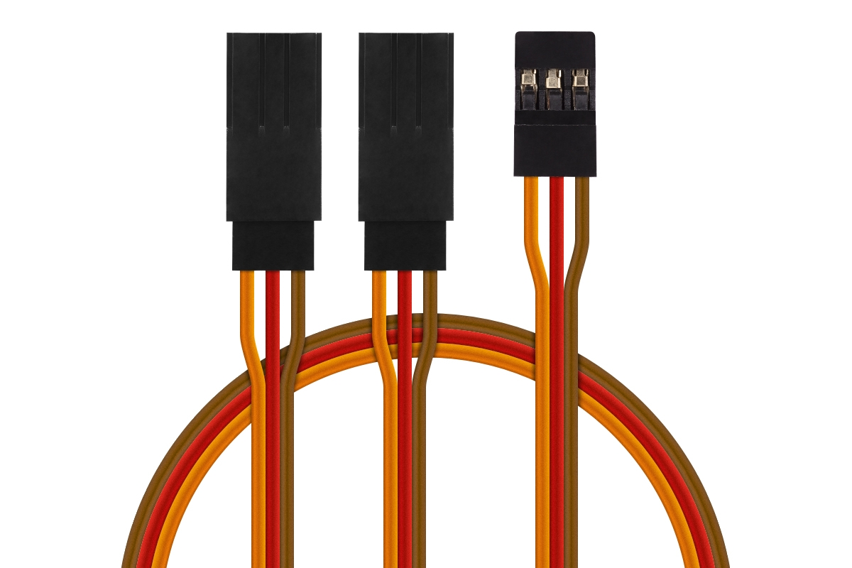 JR040 V-kabel krátký JR 150mm (PVC)