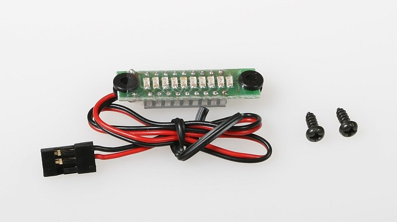 Náhľad produktu - JR065/5 indikátor 10LED Rx 5 článek