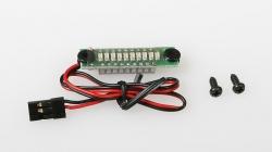 JR065/5 indikátor 10LED Rx 5 článek