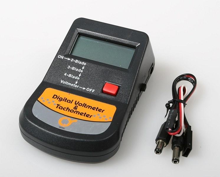Náhľad produktu - 602-1B digitálny otáčkomer s meradlom