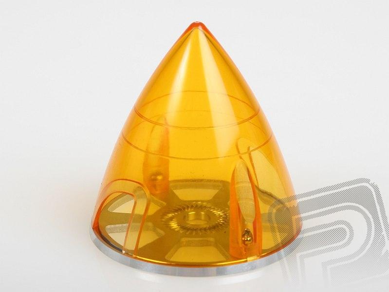 Náhľad produktu - PROFI kužeľ EP 63mm Transparentný Oranžový