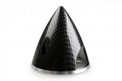 Náhľad produktu - PROFI kužeľ 51mm Čierny (imitácia carbon)