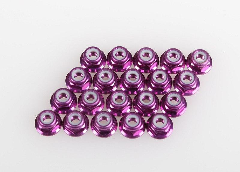 Náhľad produktu - Samojistící matice M3 (fialová), TS-4E, ZK-2, ZT-2, SSK, SST, F1