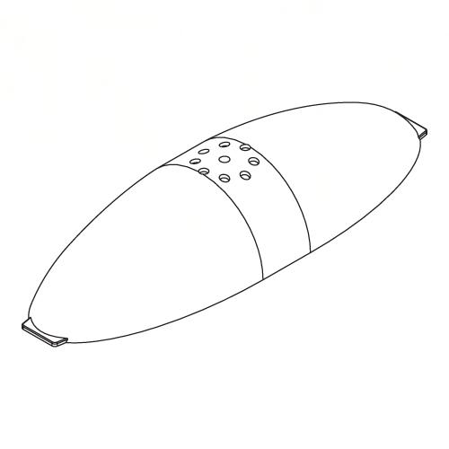 Náhľad produktu - Vchní část trupu, SB1