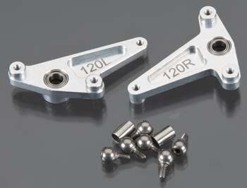 Náhľad produktu - Alu kovová riadiaca páka 120, X50