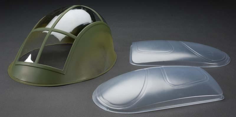 Náhľad produktu - Čelní sklo MD-500, 3834