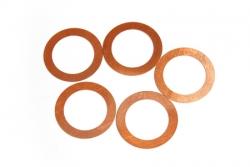 Náhľad produktu - Podložky pod hlavu 0,2mm (pre .21 motory, 5ks.)