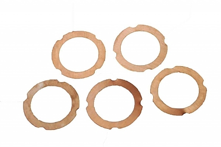 Náhľad produktu - Podložky pod hlavu 0,2mm (pre .28 motory, 5ks.)