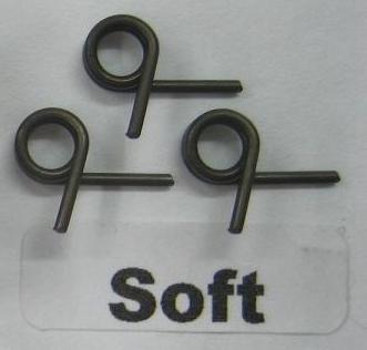 Náhľad produktu - Alpha pružinky spojky 3ks. 1,0mm - měkké