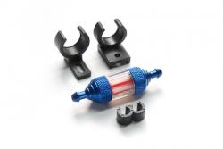 Náhľad produktu - S315 transparentní palivový filtr včetně držáku