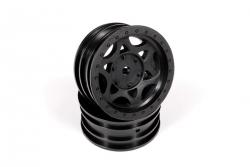 Náhľad produktu - 1.9 Walker Evans Street disky - černé (2 ks.)