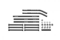 Náhľad produktu - AX10 Scorpion šedé sloupky a vzpěry, sada