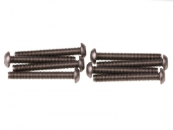 Náhľad produktu - M3X23 Imbusový šroub s kulatou hlavou, titanové (8ks.)