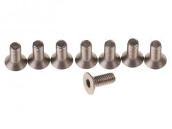 Náhľad produktu - Zápustné imbusové šrouby M4x7 - titanové (8 ks.)