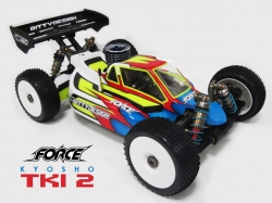 Force čirá karoserie - KYOSHO MP9 TKI2-3