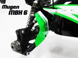 Náhľad produktu - Lapače nečistot - MUGEN MBX-6 Bitty design style lakování