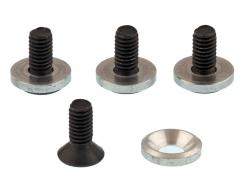 Náhľad produktu - Ukončení na hřídely u sp. motoru s SG hřídelí (Alu podložka a šroub), (4ks.)