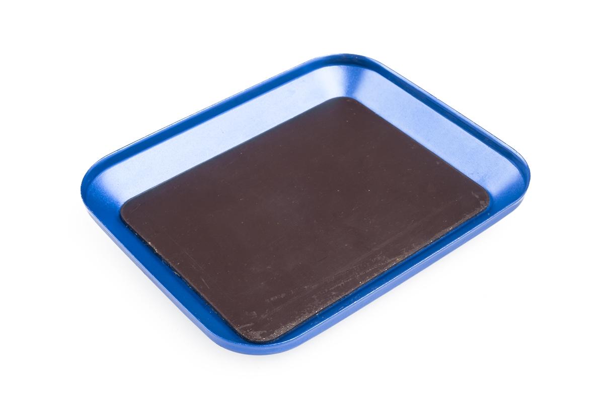 Kovová magnetická podložka modrá