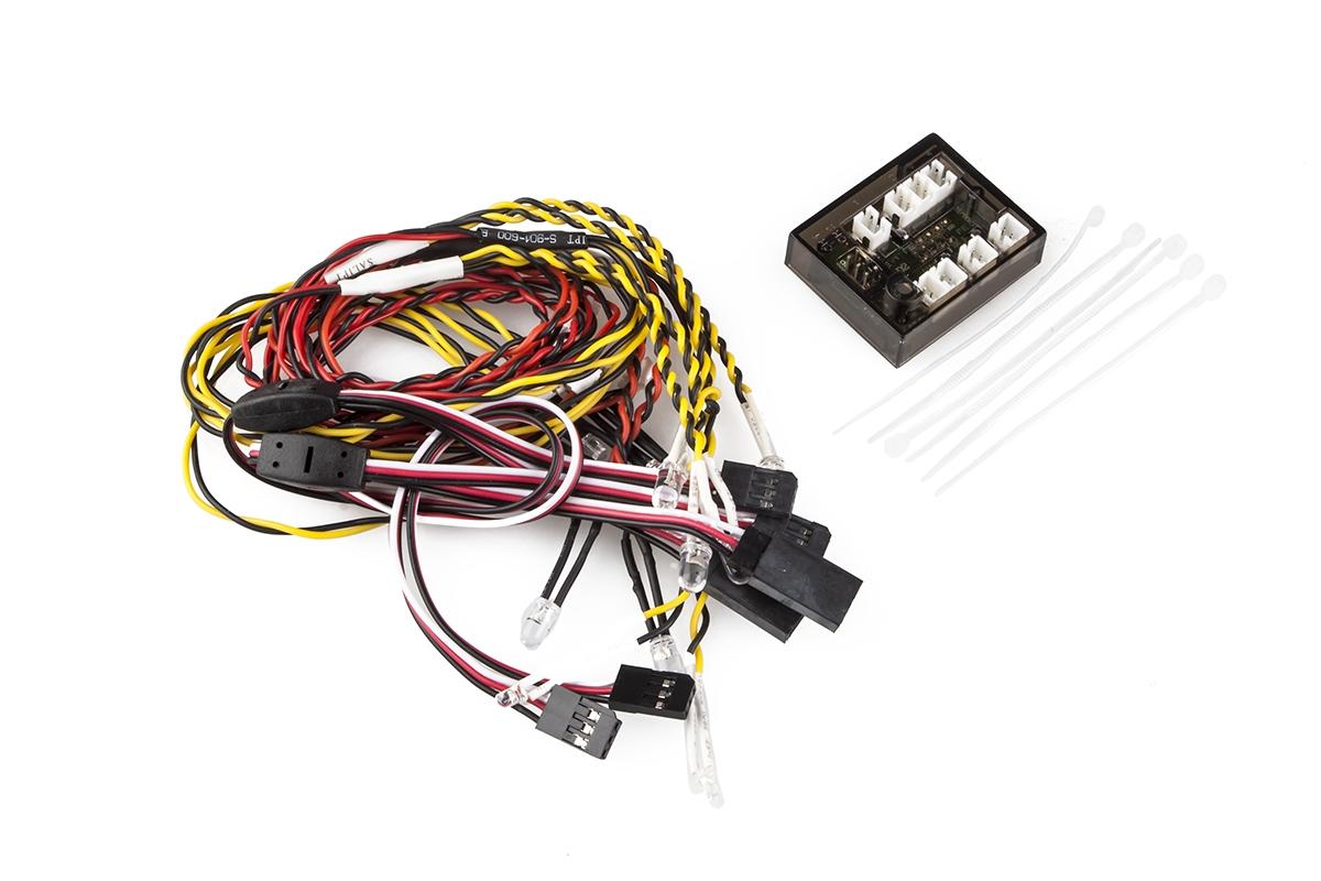 Světelná LED sada s ovládací jednotkou (12 LED)