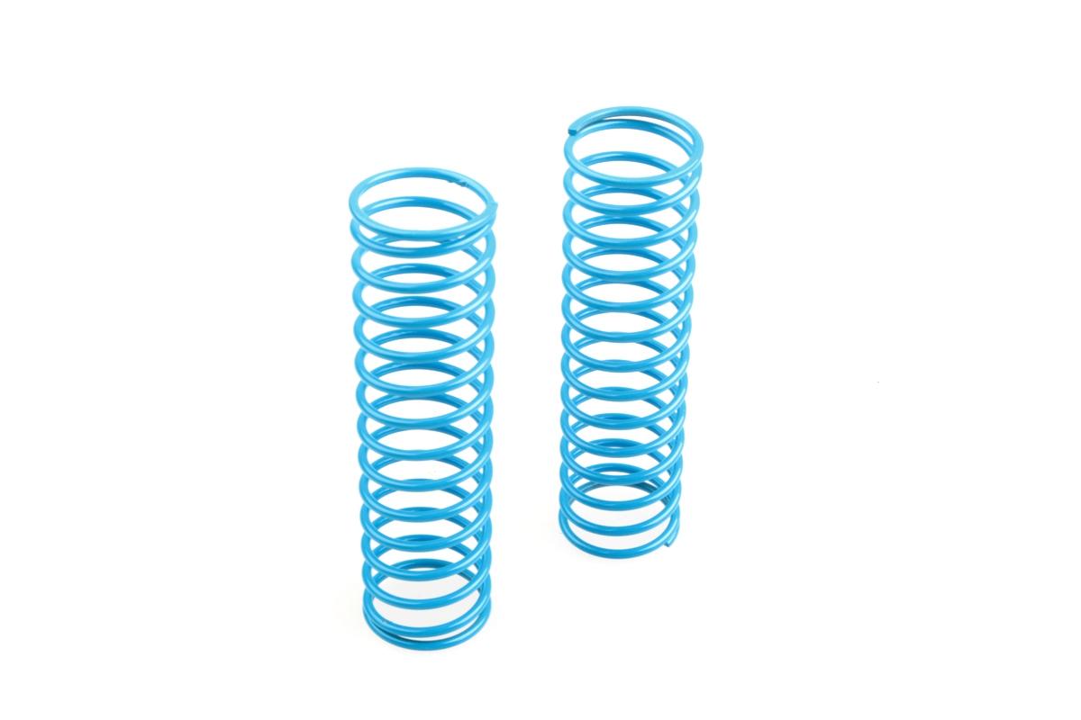 Náhľad produktu - Přední pružiny tlumičů (krátké 14.5závitů) měkké, světle modré