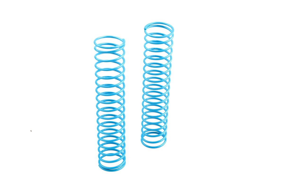 Náhľad produktu - Zadní pružiny tlumičů (krátké 17.5závitů) měkké, světle modré