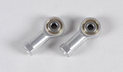 Náhľad produktu - Alu/ocelový kloubek o průměru 4mm/M4, 2ks.