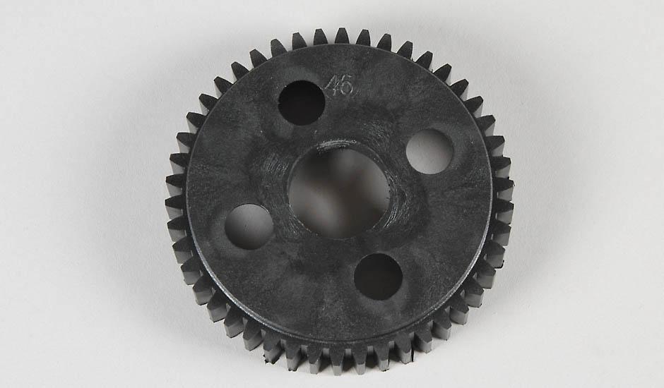 Náhľad produktu - Plastové ozubené kolo 46 zubů, 2-stup. 1ks.