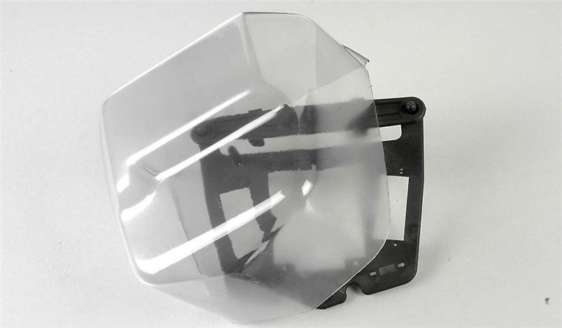 Náhľad produktu - Ochrana servo desky proti dešti a mokru, 1ks.