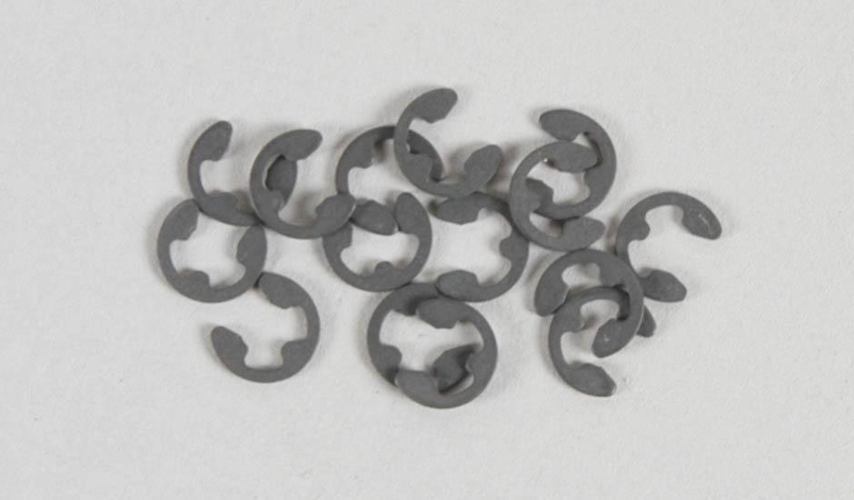 Náhľad produktu - Ocelové pojistné segrovky (éčka), 3,2mm, 15ks.