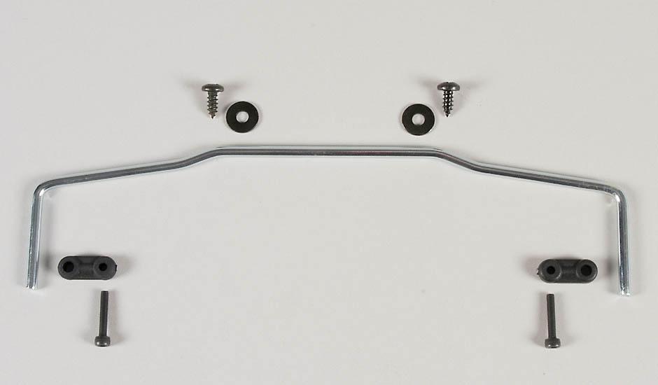 Náhľad produktu - Přední stabilizátor 4mm pro monster modely, sada