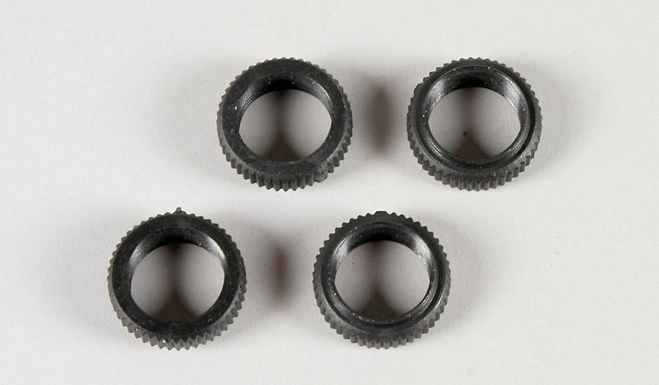 Náhľad produktu - Plastové matky nastavování, pro olej. tlumiče 16mm, 2ks.