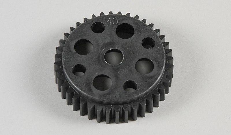 Náhľad produktu - Plastové ozubené kolo 40 zubů, 1ks.