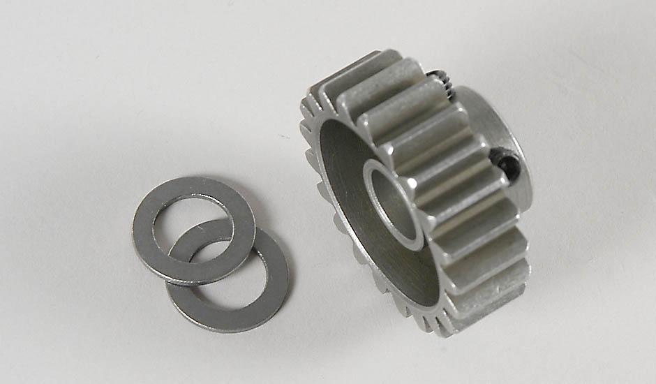 Náhľad produktu - Ocelový pastorek 21 zubů, profilovaný, 1ks.