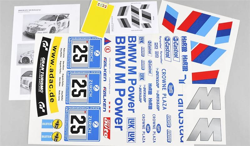 Náhľad produktu - Polepy, BMW M3 ALMS, čirá