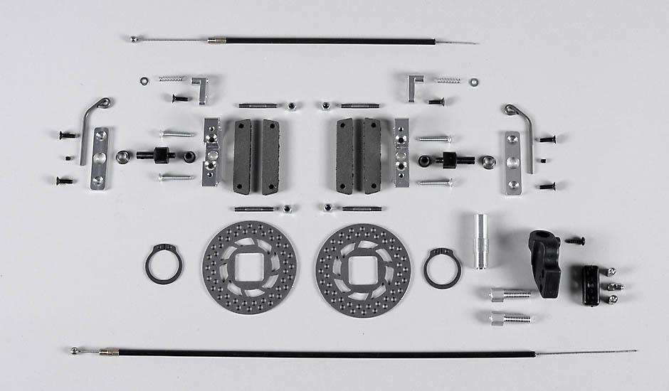 Náhľad produktu - Zadní tuning kotoučové brzdy 97, sada