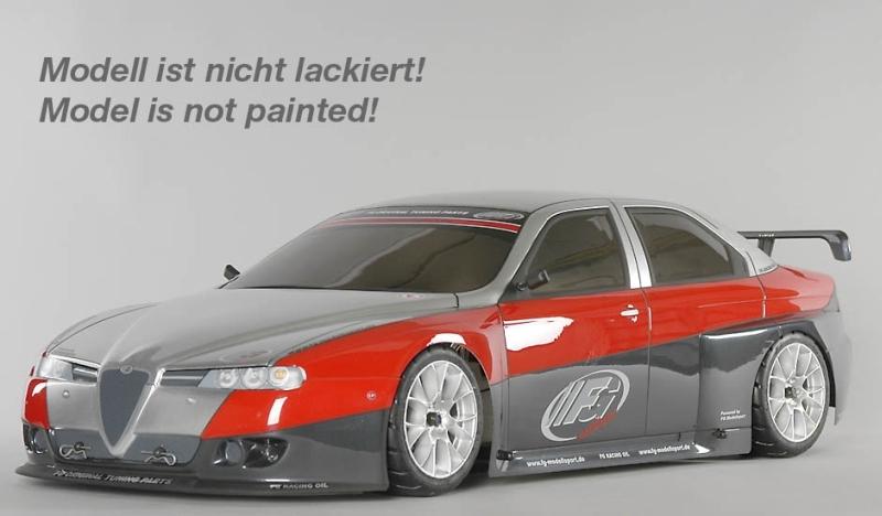 FG Sportsline 08 Alfa Romeo 156WTCC, 2WD, čirá karoserie