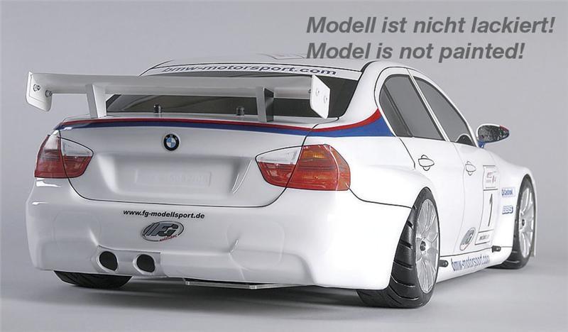 FG Sportsline 08 BMW 320si WTCC, 2WD, čirá karoserie