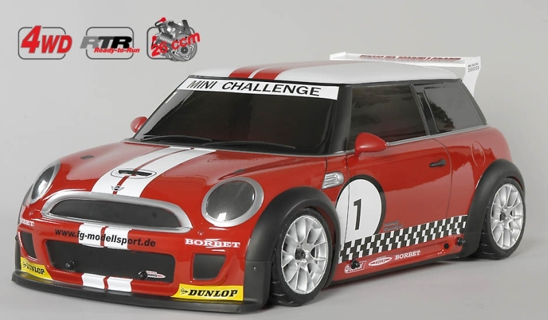 FG Sportsline 08 Mini Cooper, 4WD, RTR