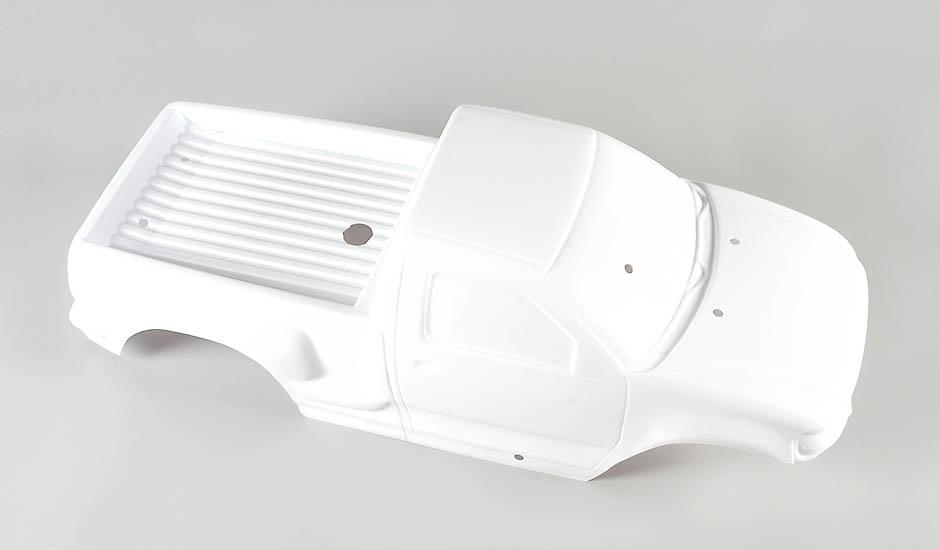 Náhľad produktu - Karoserie Monster/Stadium Truck 4WD bílá, 1ks.