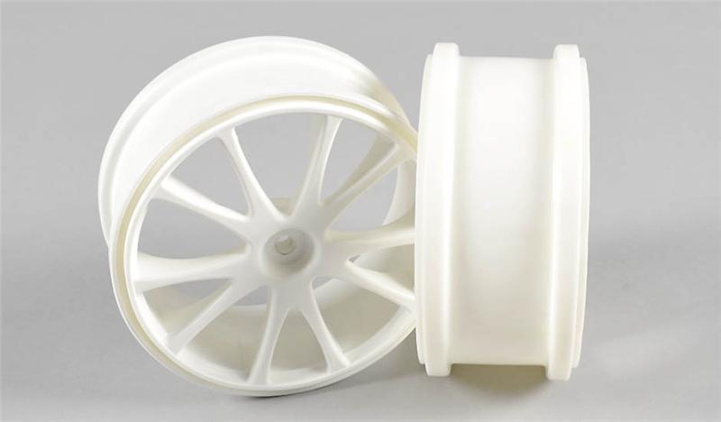 Náhľad produktu - Off Road disky paprskové 1/6, bílé 2ks.