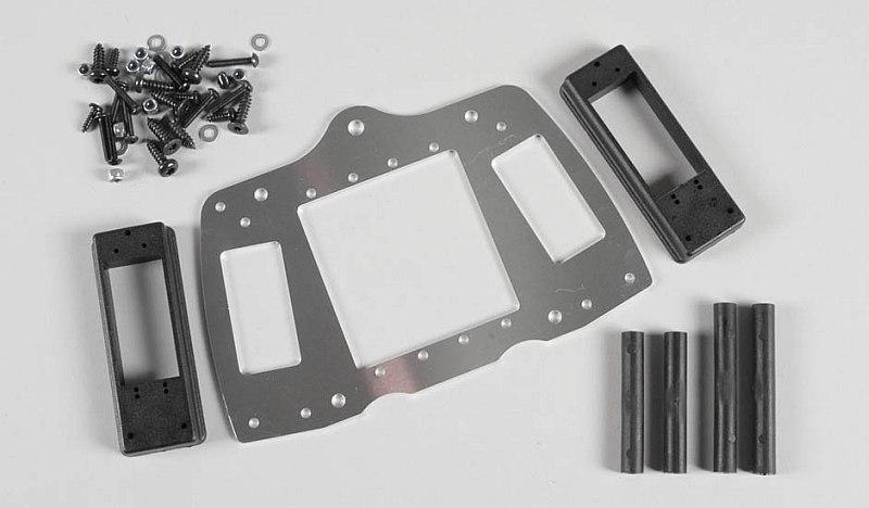 Náhľad produktu - Alu deska serv a RC přisl. 4WD, sada