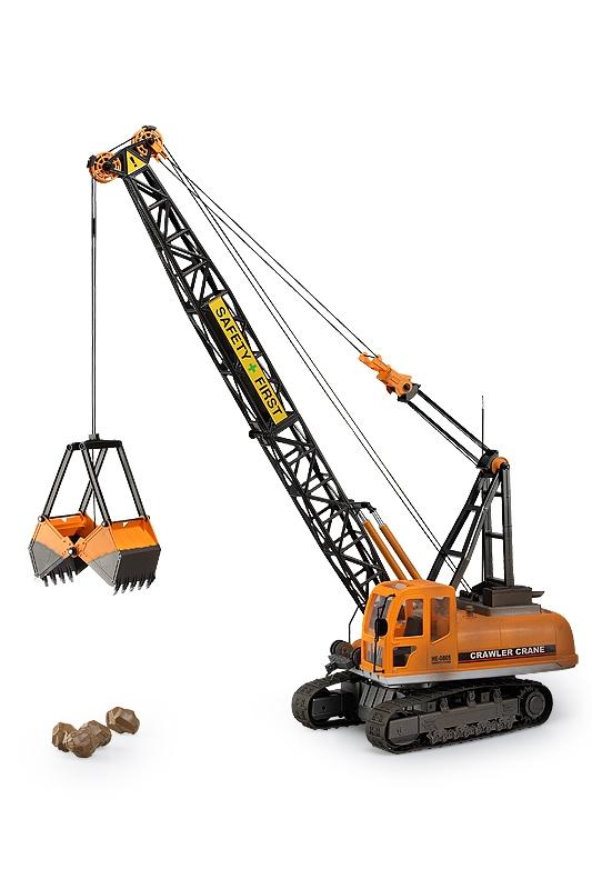 Náhľad produktu - Crawler Crane/Bager s drapákom RC set 27MHz